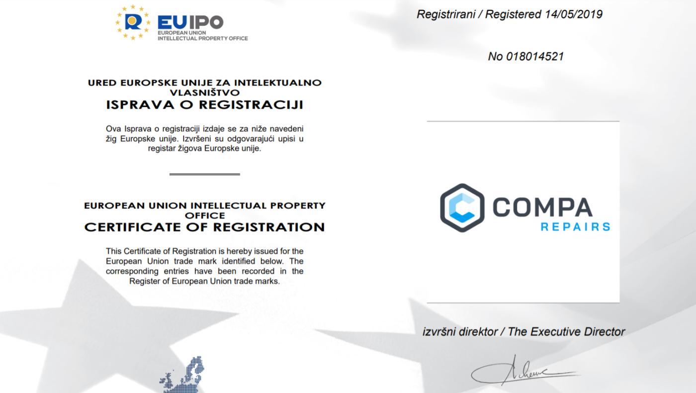 EU trademark compa repairs