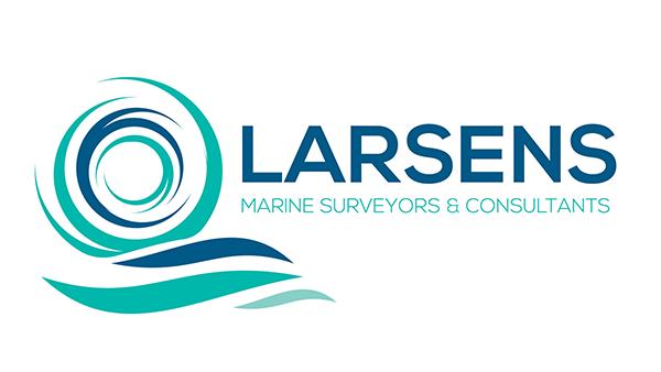 larsens marine logo