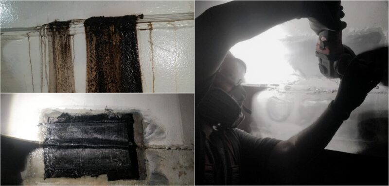Repair of hfo bulkhead